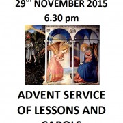 Advent Service of Lessons and Carols