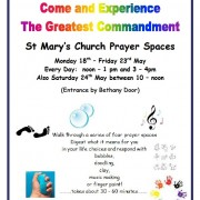 Prayer Spaces May 2015