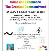 Prayer Spaces May 2015