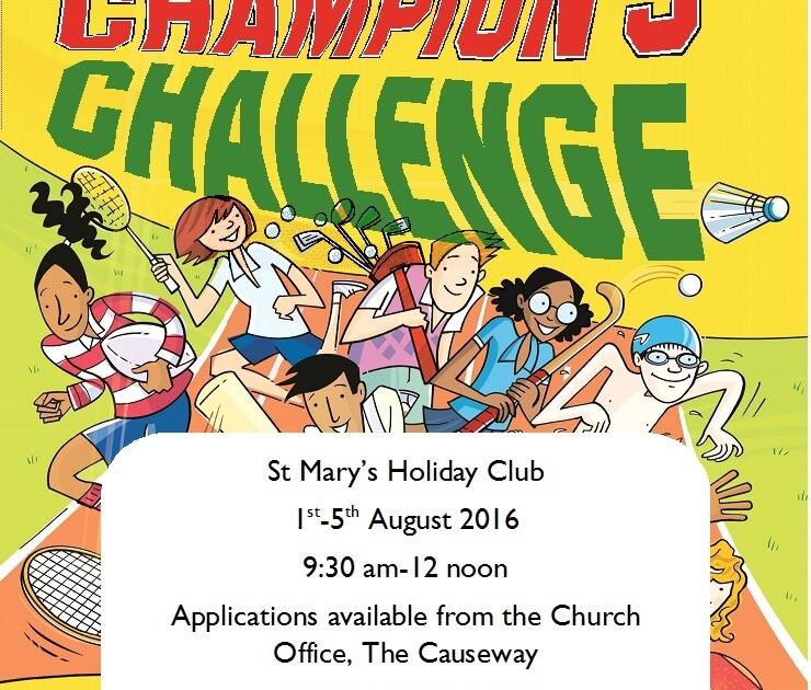 Champions Challenge Holiday Club 2016
