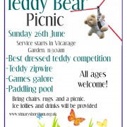 Teddy Bear Picnic 26th June 2016
