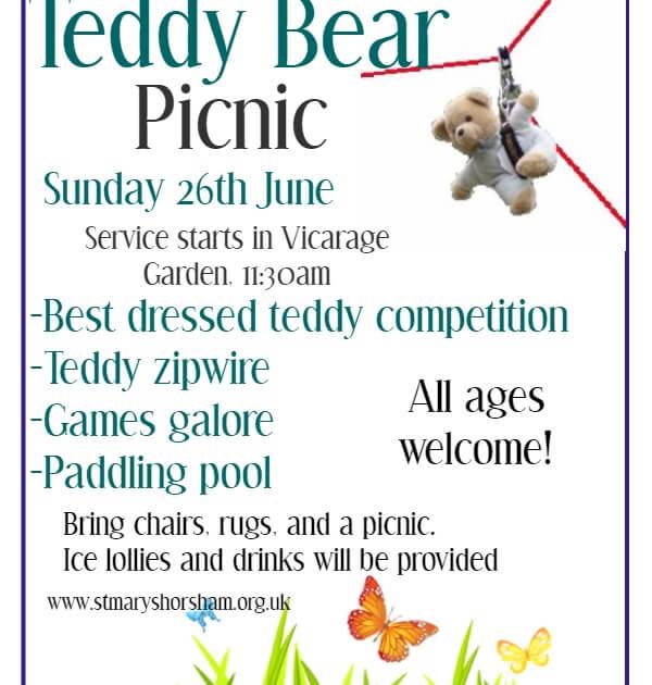 Teddy Bear Picnic 26th June 2016