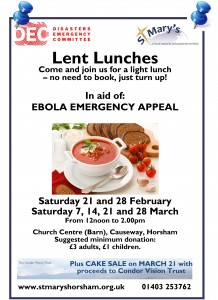 Lent Lunches 2015