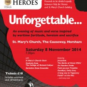 Remembrance Concert: Unforgettable